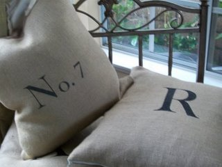 [pillow+with+numbers+burlap]
