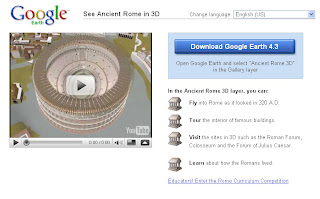 Google Earth Rebuilds Ancient Rome