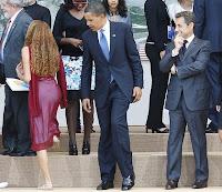 President Obama and girl Mayora Tavares