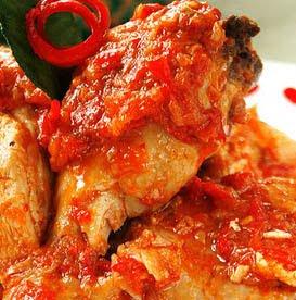 Rica-rica Chicken (Ayam Rica-rica)
