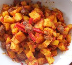 Spicy Potato Crisps (Sambal Goreng Kentang)