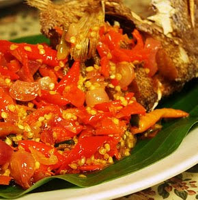 Manadonese Style Sweet And Spicy Sauce Fried Fish