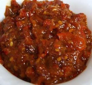 Bajak Chili Sauce (Sambal Bajak)
