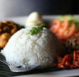 Coconut Rice (Nasi Lemak)
