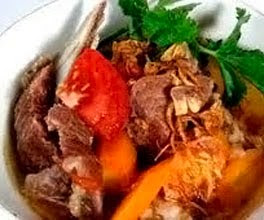 Beef Rib Soup (Sup Iga Spesial)