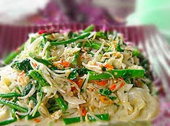 Bali style Mix Vegetables Salad (Jukut Urab)