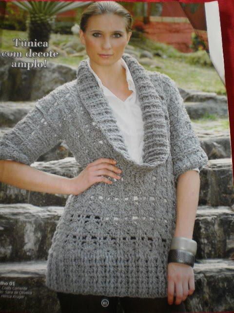 Esses casacos são lindos, são todos confeccionados em croche.