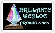 Brilhante WEBLOG - PREMIO 2008