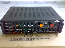 5 IN 1 CHANNEL DIGITAL AMPLIFIER 8