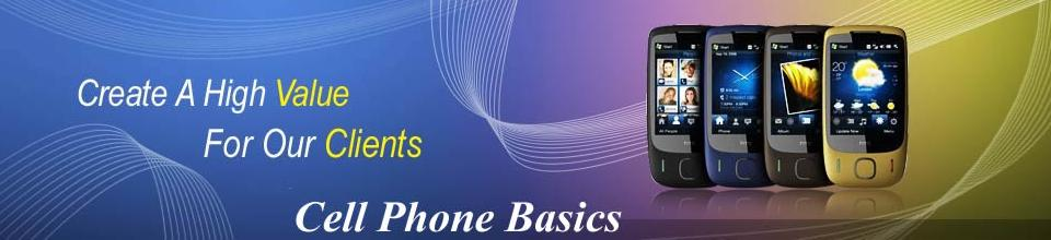Cell phone Basics, Blackberry, I Phones.