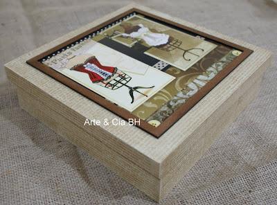 artesanato decoupage moldura madeira mdf