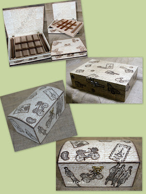artesanato carimbo caixa madeira mdf