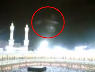 video malaikat turun di ka'bah