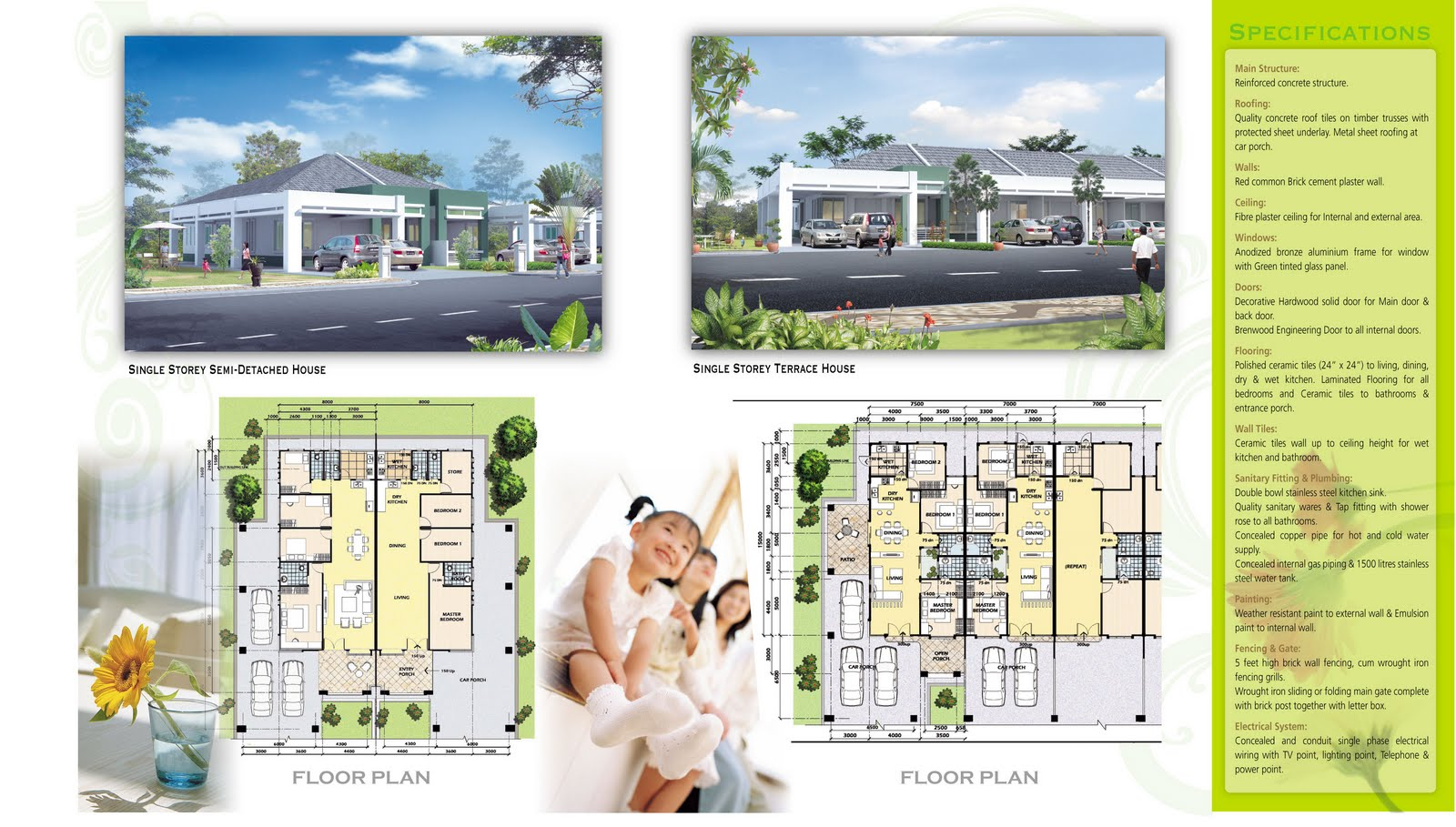 House Plans Semi Detached Flats - Donkiz Real Estate