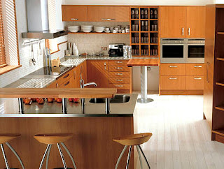 Caprio Cherry Kitchen, Your Minimalist Kitchen