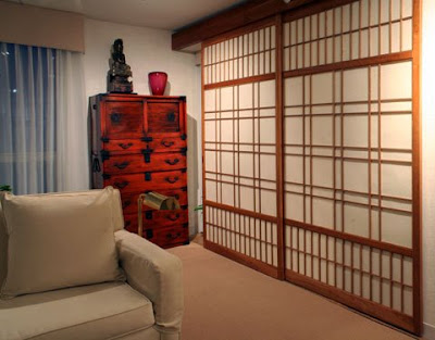 Shoji Japanese Classic Sliding  Door and Screen