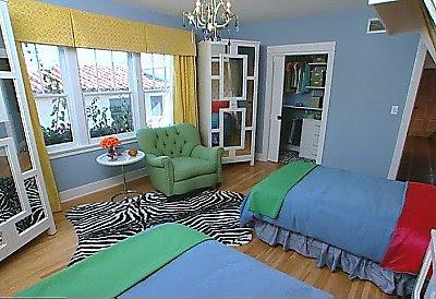 Blue Teen Bedroom