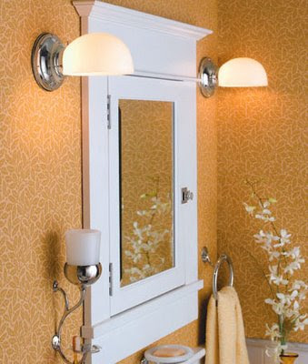 Romantic Bathroom Ideas Lighting