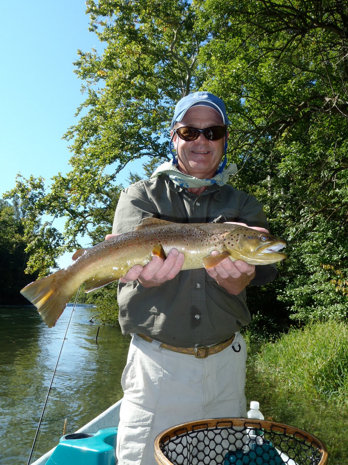 Troutfishers guide service fly fish tennessee for Gatlinburg trout fishing