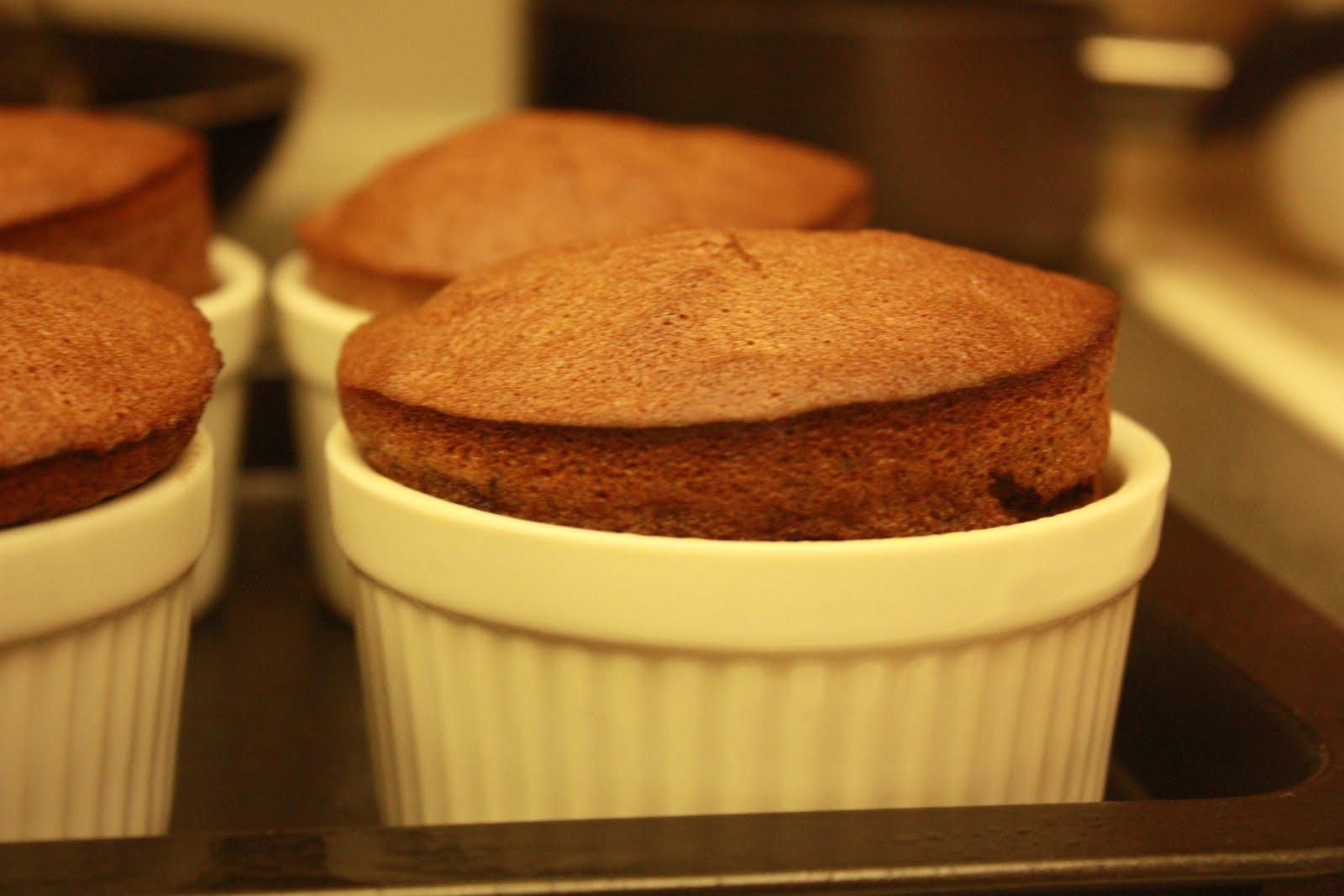 Deeelish By Mish: 100 Calorie Chocolate Banana Souffle