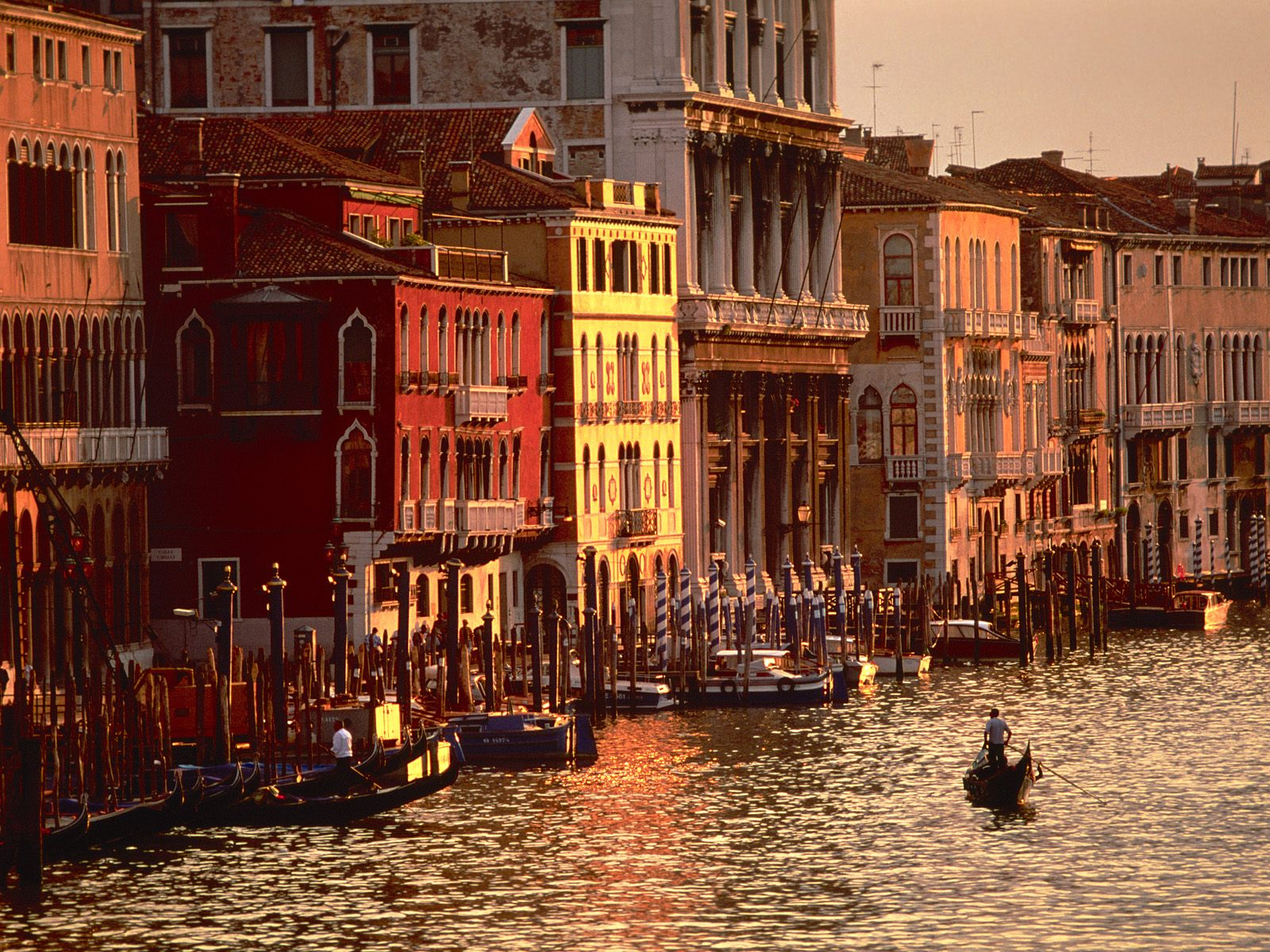 Afternoon in Venice Pc Wallpaper