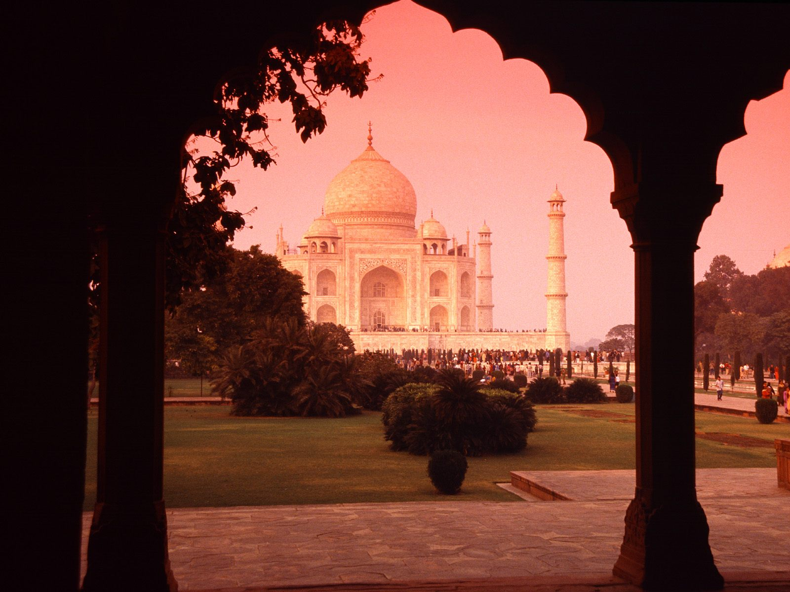 Architectural Wonder, Taj Mahal, India Pc Wallpaper