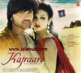 Kajraare DVD Poster Screenshots Hindi movie wallpapers photos CD covers review stills Himesh Reshammiya,Mona Laizza