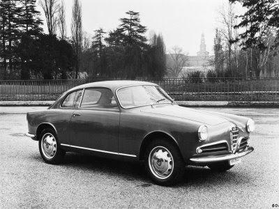 1955 Alfa Romeo Giulietta Spider. Alfa Romeo Giulietta Sprint