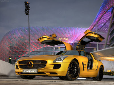 The styling of the new Mercedes-Benz SLS AMG is not only very special