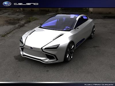 Subaru Celeno Concept front