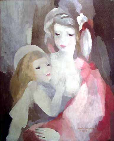 Marie Laurencin - Page 3 Mother%2Band%2Bchild%2Blaurencin