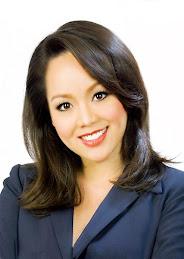 TV Reporter Andrea Nguyen