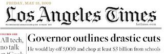 La Times Headline