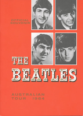 Australian Tour Programme Reprint