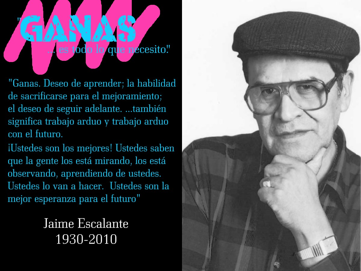 The Gallery For Gt Jaime Escalante