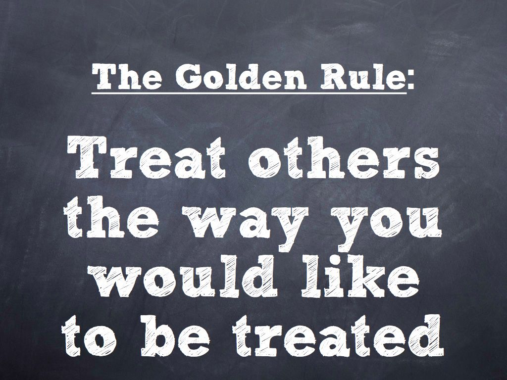 where can we find the golden rule in the bible