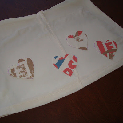 Recycle your t-shirt into a toddler skirt (tutorial) step 5 via lilblueboo.com