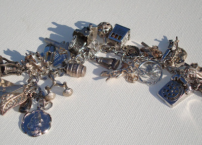 Collecting Vintage Charms and Trinkets - Charm Giveaway I via lilblueboo.com