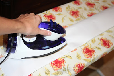 Ironing Plastic Bag to Melt - DIY Tutorial via lilblueboo.com