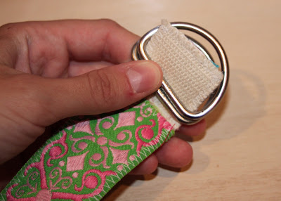 Scrap Ribbon Belt (A Tutorial) step 15 via lilblueboo.com