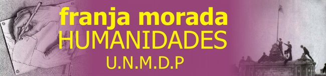 Franja Morada Humanidades