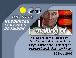 Making of Jean Luc Picard