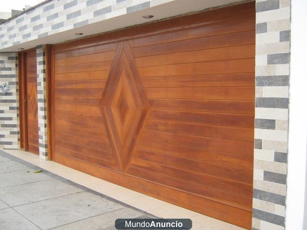 Carpinter a la fe de dios trabajos de carpinter a for Modelos de puertas principales para casas