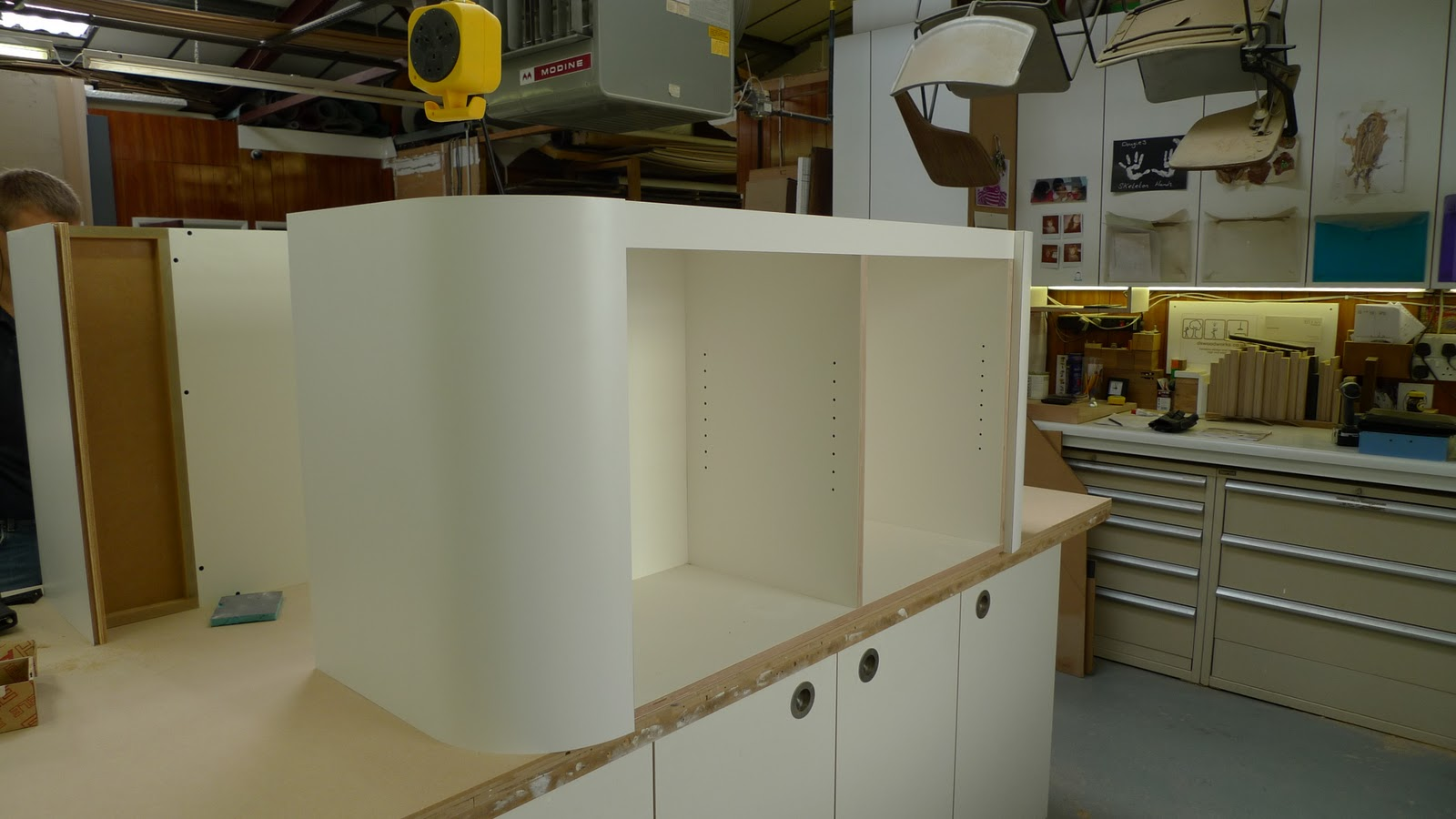 Curved Kitchen Units
