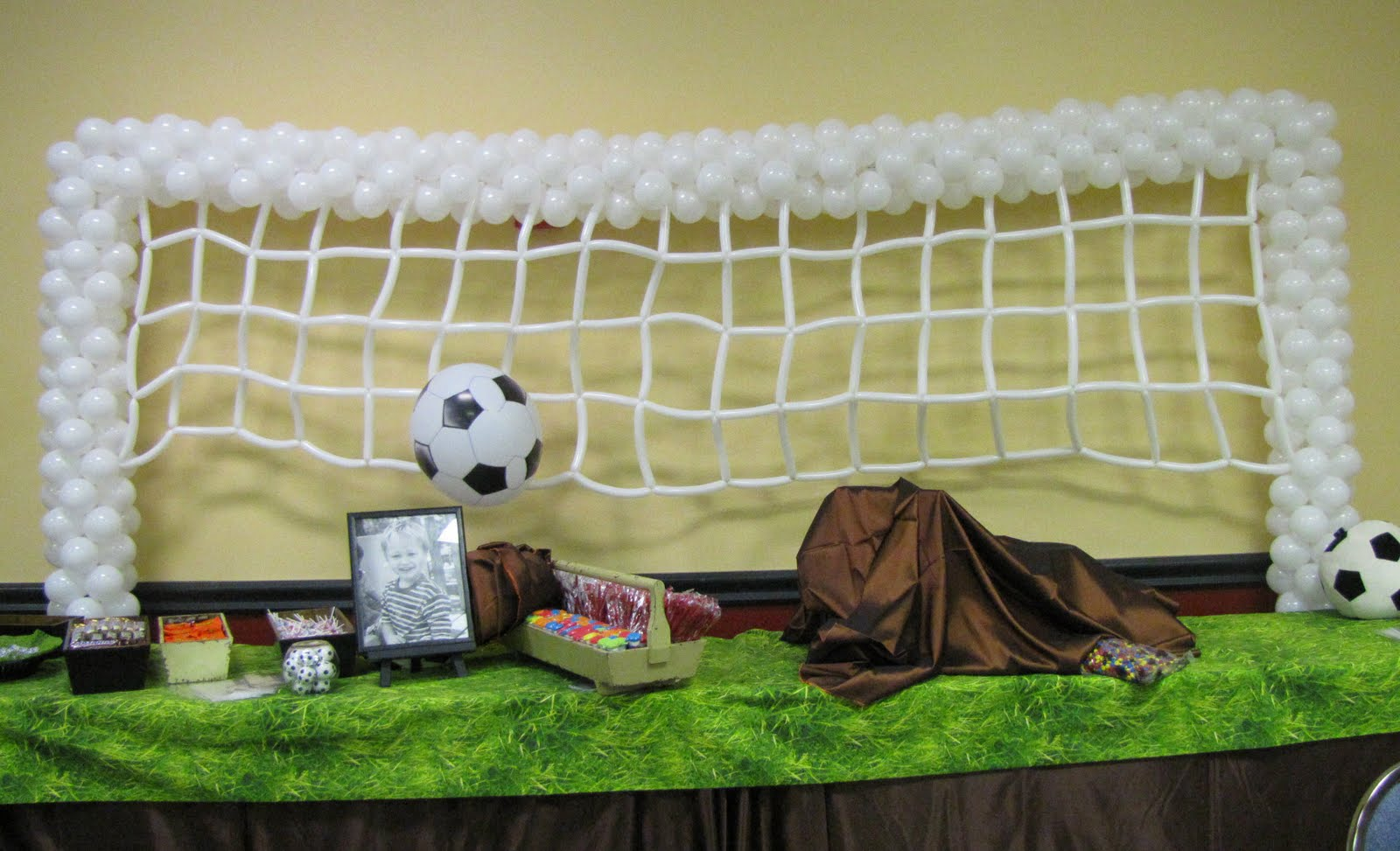 Party People Event Decorating Company Soccer Themed Mitzvah