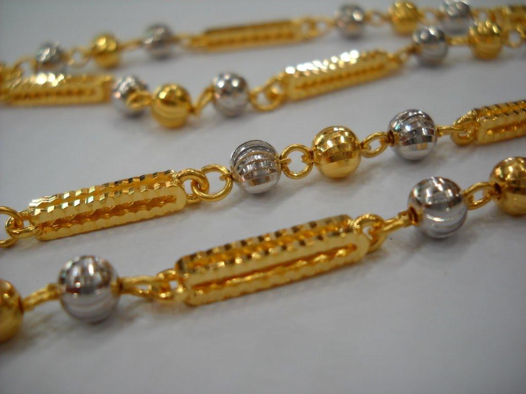 rantai leher rekaan terbaru emas 916 cantik dan tegap lihat gambar dan ...