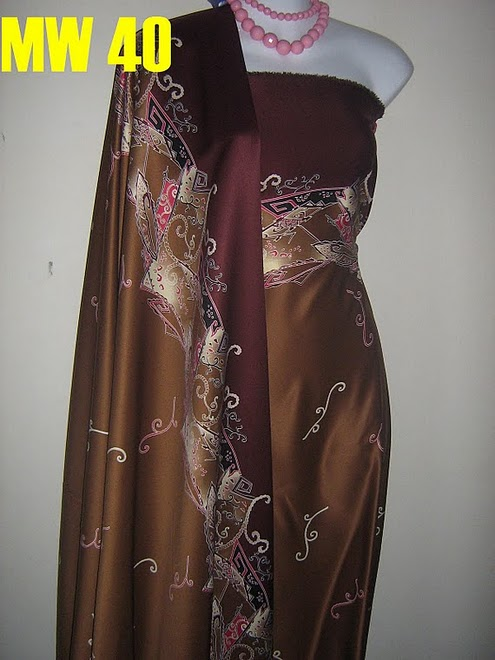 MW 40: BATIK UNIFORM SUITABLE FOR MEN AND WOMEN, QUALITY FABRIC
