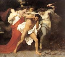 Orestes perseguido por las Erinias