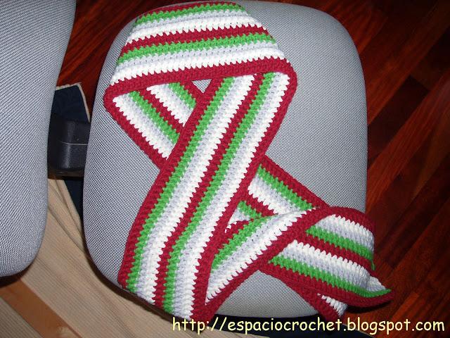 Bufandas de crochet / Crocheted scarves