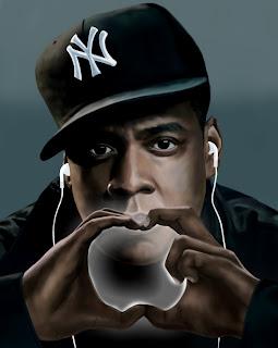Jay-Z portrait